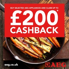 Up To £200 Cashback From AEG!