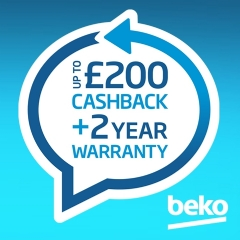 Up To £200 Cashback From Beko!