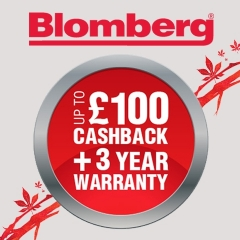 Get Up To £100 Cashback From Blomberg!