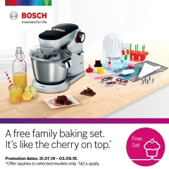Bosch Free Family Baking Set!