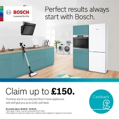 Bosch Up To £150 Cashback With Bosch!