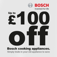 Get Up To £100 Trade-in With Bosch!