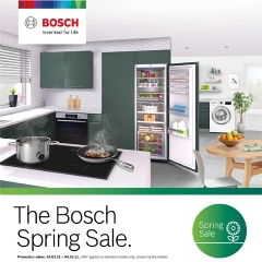 Bosch Bosch Spring Sale Now On!