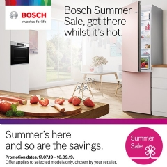 Bosch Bosch Summer Sale Now On!