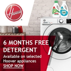 Hoover 6 Months FREE Detergent With Hoover!