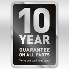 Indesit Hotpoint 10 Year Parts Guarantee!