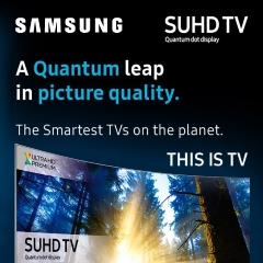 Samsung A Quantum Leap In Picture Quality!