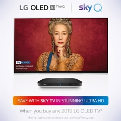 LG Up to 18 Months FREE Sky With LG!