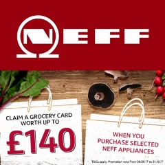 Neff Up To £140 Grocery Card With Neff!
