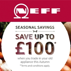 Save Up To £100 With Neff!