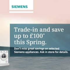 Siemens Trade In & Save With Siemens!