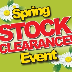 Vax Spring Stock Clearance Event Now On!