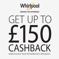 Whirlpool Up To £150 Cashback With Whirlpool!