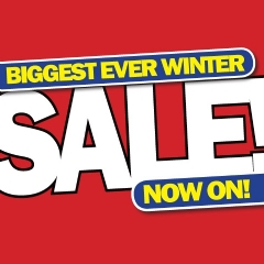 Hoover Biggest Ever Winter Sale Now On!