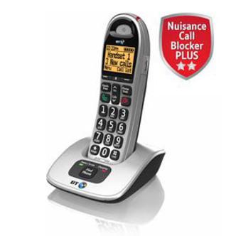 BT 069264 BT 4000 Big Button Cordless Phone Single Handset