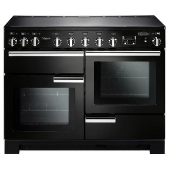 Image of Rangemaster 101550 110cm PROFESSIONAL DELUXE Induction Range Cooker Bl