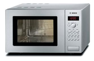 Bosch HMT75G451B Compact Microwave Oven with Grill Stainless Steel