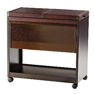 Hostess HL6200DB Connoisseur Hostess Trolley in Mahogany Finish