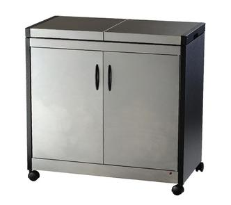 Hostess HL6232BS Connoisseur Hostess Trolley in Brushed Stainless Stee