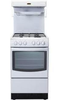 New World 50THLG WHI 50cm High Level Grill Gas Cooker in White