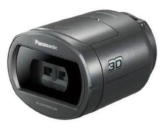 Accessories Panasonic VW CLT1E H 3D Conversion Lens F Value F3 2