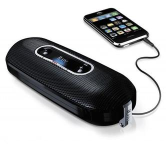 ILUV ISP100 Mini Portable Stereo Speaker with Carry Pouch