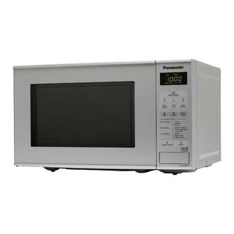Panasonic NN E281MMBPQ Compact Microwave Oven in Silver 20 Litre 800W