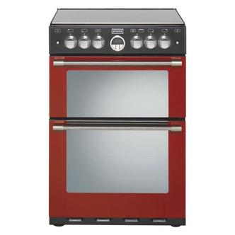 Stoves 444440988 60cm STERLING 600G JAL Gas Cooker in Jalapino Red