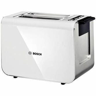 Bosch TAT8611GB STYLINE Range 2 Slice Toaster in Gloss White