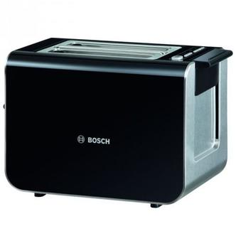 Bosch TAT8613GB STYLINE Range 2 Slice Toaster in Gloss Black