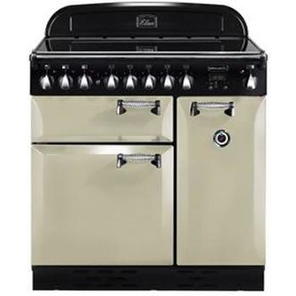 Rangemaster 89410 90cm ELAN Electric Induction Range Cooker in Cream