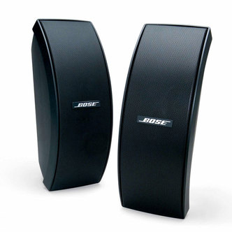 Bose 151SE BLK Environmental Speakers Inc Brackets in Black