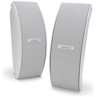 Bose 151SE WHT Environmental Speakers Inc Brackets in White