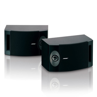 Image of Bose 201V Direct Reflecting Stereo Speaker System in Black