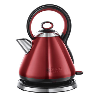 Russell Hobbs 21881 LEGACY Traditional Cordless Jug Kettle in Red
