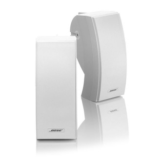 Image of Bose 251 WHT Wall Mounted Environmental Speakers in White