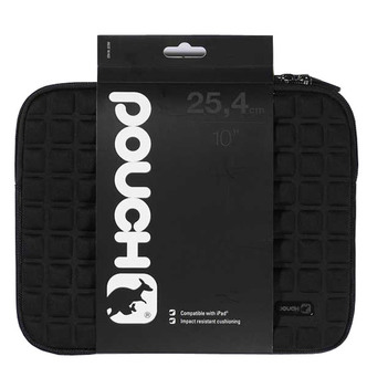 Image of Vivanco 32356 10 Tablet Case in Black Pouch Style