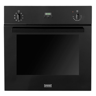Stoves 444440825 Built In Multifunction Electric Fan Oven in Black