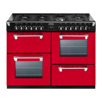 Stoves 444441326 Richmond 1100GT CB 110cm Gas Range Cooker Hot Jalapen