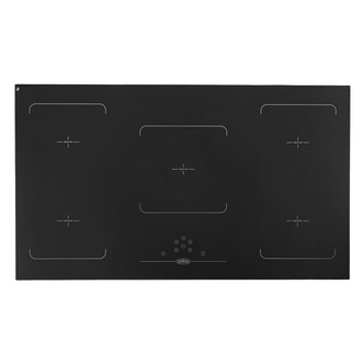 Belling 444443939 90cm Built In 5 Zone Induction Hob in Black Glass