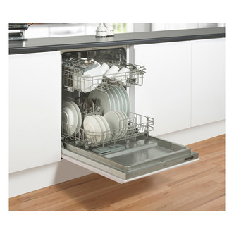 Belling 444444033 60cm Fully Integrated Dishwasher 14 Place Settings D