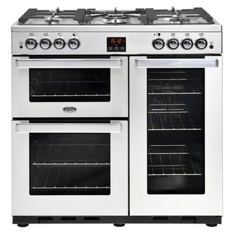 Belling 444444075 Cookcentre 90G Prof 90cm Gas Range Stainless Steel