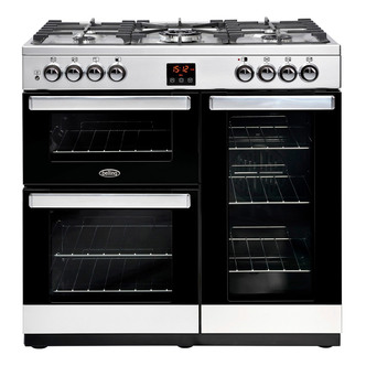 Belling 444444076 Cookcentre 90G 90cm Gas Range Stainless Steel