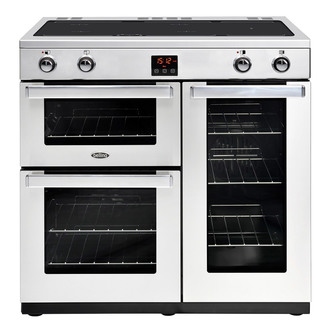 Belling 444444078 Cookcentre Prof 90Ei 90cm Electric Range Cooker St S