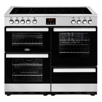 Belling 444444085 Cookcentre 100E 100cm Electric Range Cooker St St