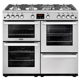 Image of Belling 444444090 Cookcentre Prof 100Ei 100cm Electric Range Cooker St