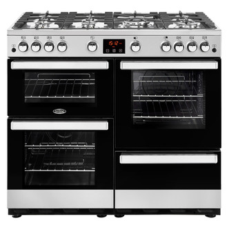 Image of Belling 444444088 Cookcentre 100G 100cm Gas Range Stainless Steel