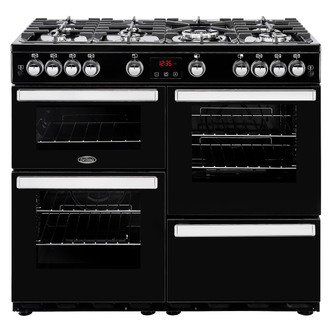 Image of Belling 444444089 Cookcentre 100G 100cm Gas Range in Black