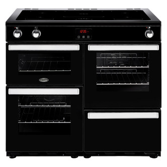 Belling 444444092 Cookcentre 100Ei 100cm Electric Range Cooker Black