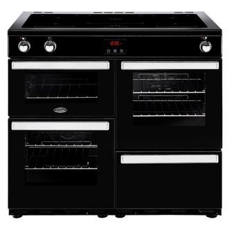 Belling 444444092 Cookcentre 100Ei 100cm Electric Range Cooker Black
